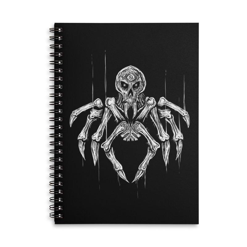 Quadratus Accessories Lined Spiral Notebook by Vertebrae33