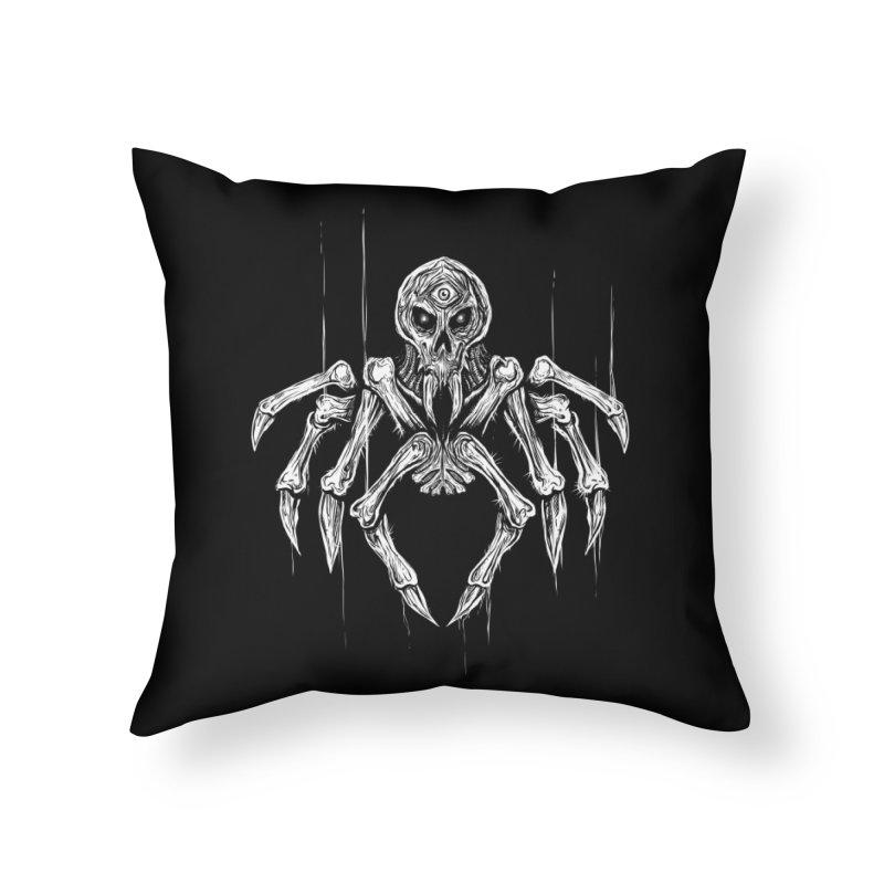 Quadratus Home Throw Pillow by Vertebrae33