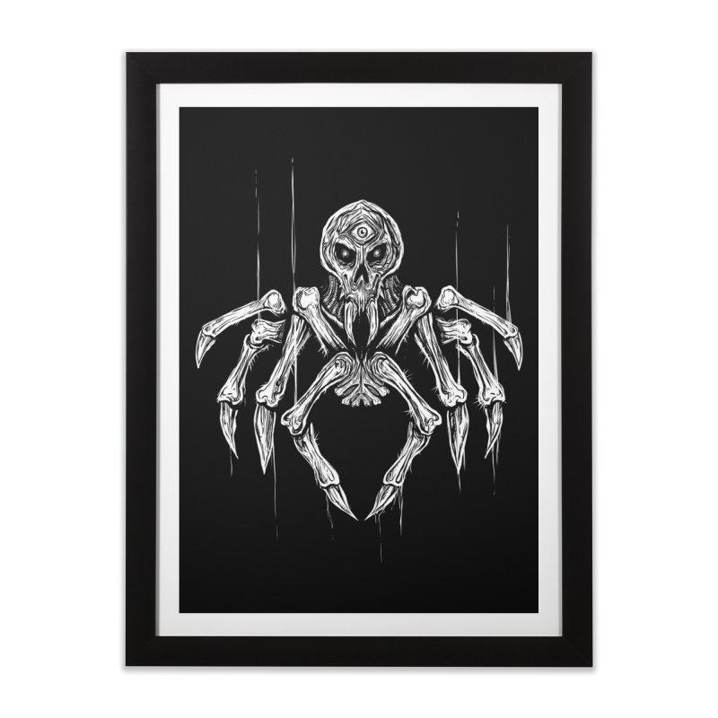 Quadratus Home Framed Fine Art Print by Vertebrae33
