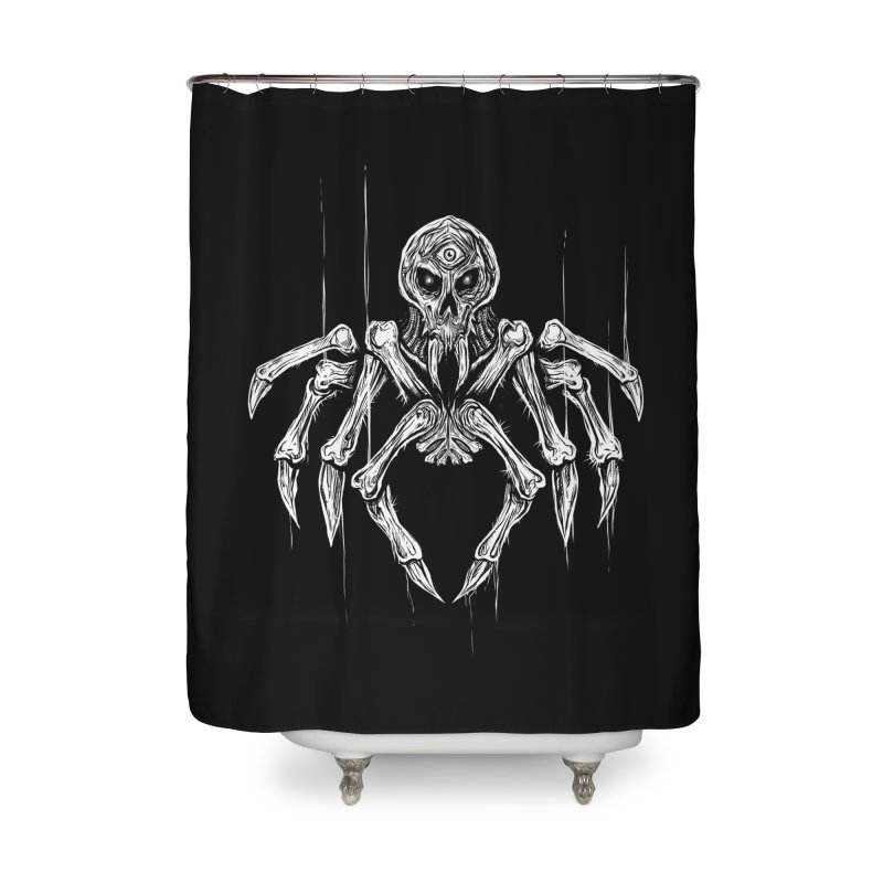 Quadratus Home Shower Curtain by Vertebrae33