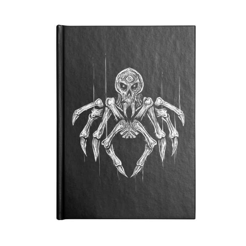 Quadratus Accessories Lined Journal Notebook by Vertebrae33