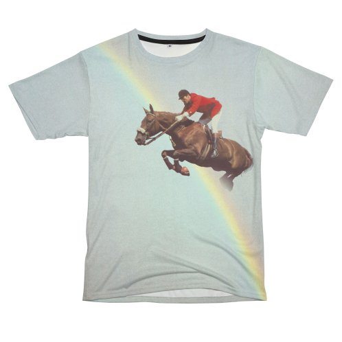 Design for Horse over rainbow