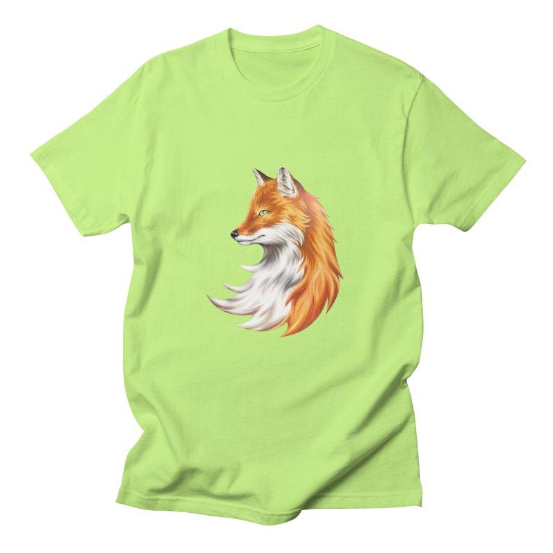 Magic Fox Men's Regular T-Shirt by vervex's shop