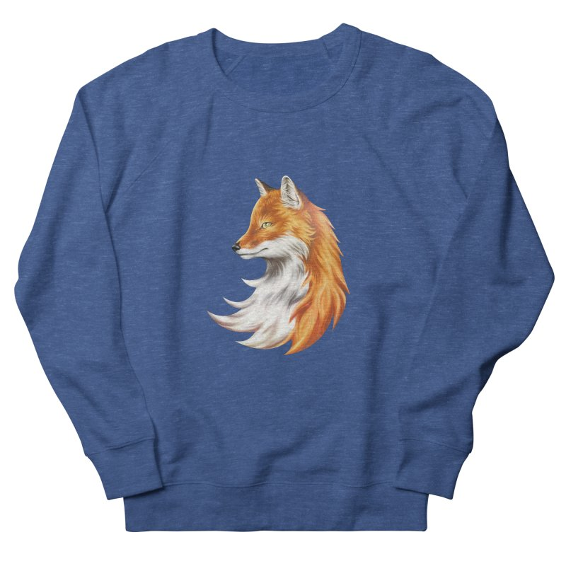 Magic Fox Men's Sweatshirt by vervex's shop