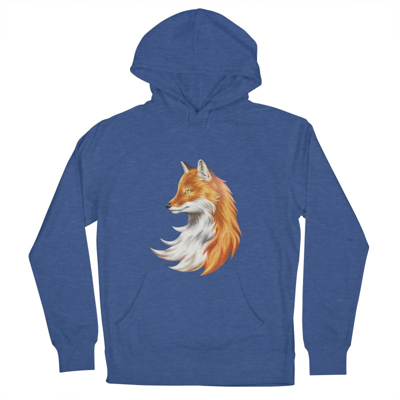 Magic Fox Men's French Terry Pullover Hoody by vervex's shop