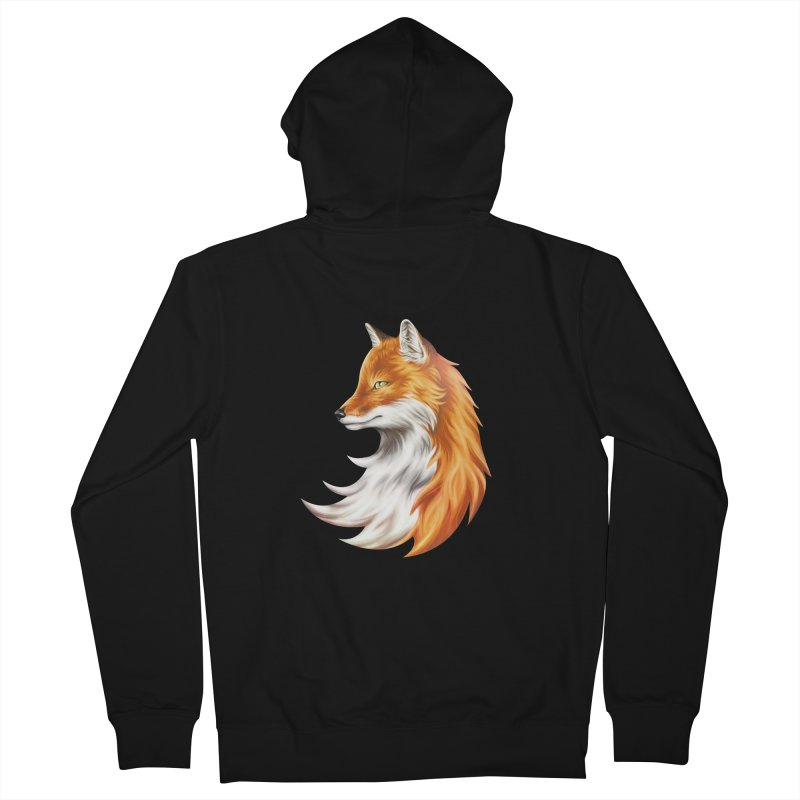 Magic Fox Men's French Terry Zip-Up Hoody by vervex's shop