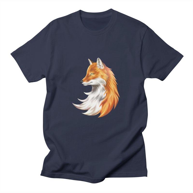 Magic Fox Men's T-shirt by vervex's shop
