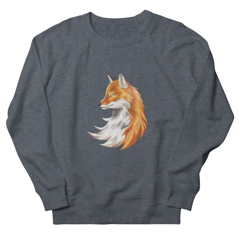 Magic Fox Men's French Terry Sweatshirt by vervex's shop