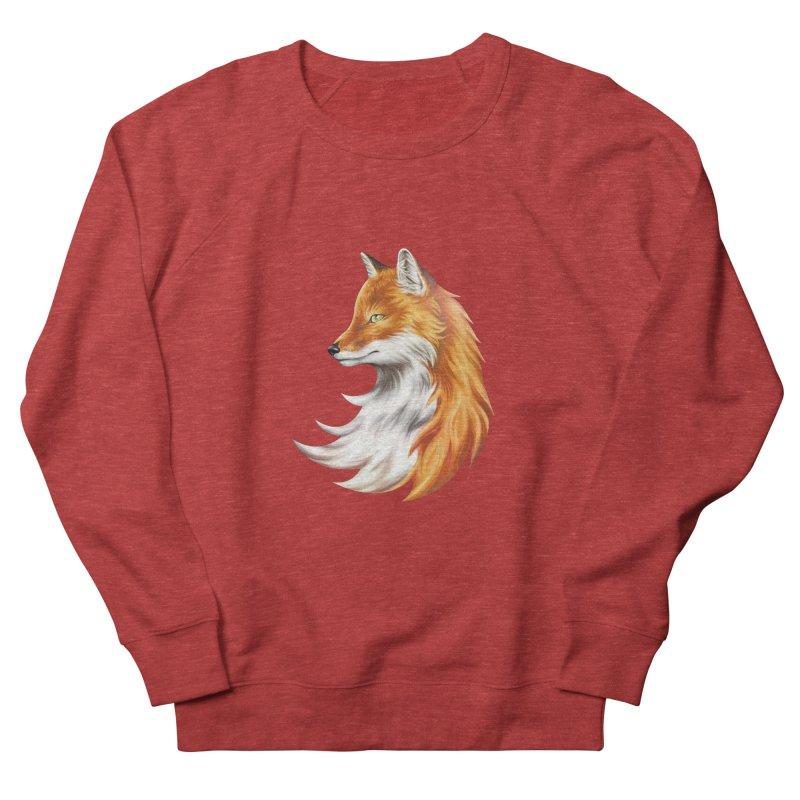 Magic Fox Men's French Terry Sweatshirt by vervex's shop