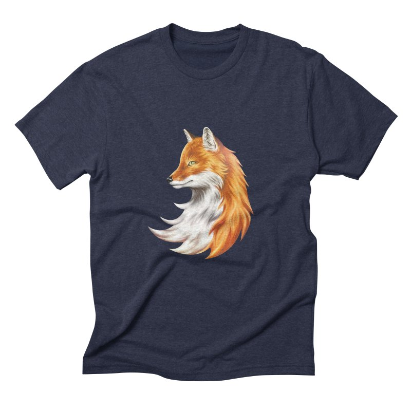 Magic Fox Men's Triblend T-Shirt by vervex's shop
