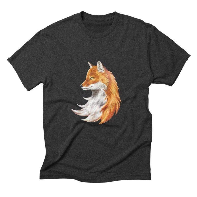 Magic Fox Men's Triblend T-Shirt by vervex's shop