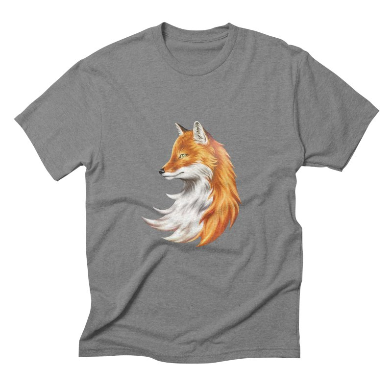 Magic Fox Men's T-Shirt by vervex's shop