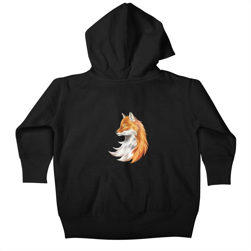 Magic Fox Kids Baby Zip-Up Hoody by vervex's shop