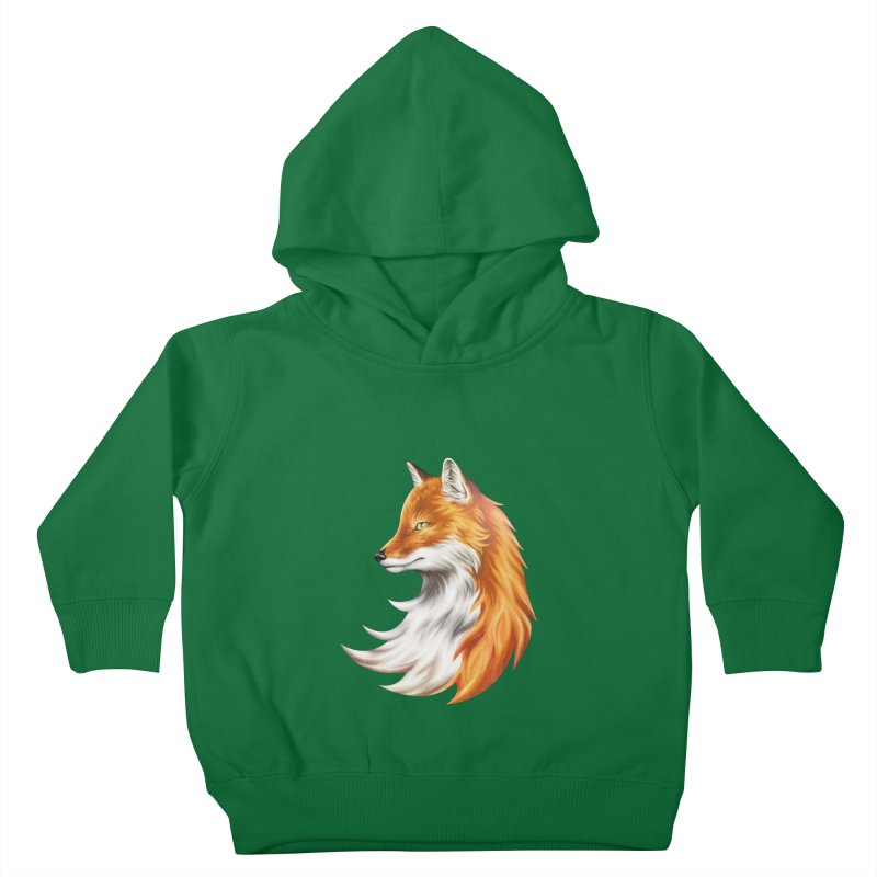 Magic Fox Kids Toddler Pullover Hoody by vervex's shop