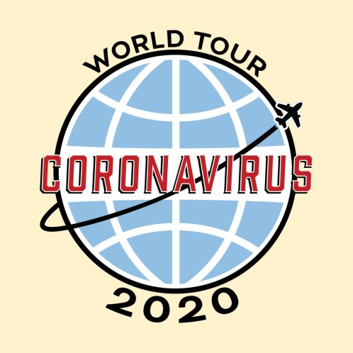 Design for CORONA TOUR!