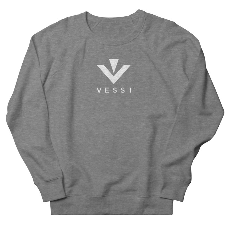 Vessi Logo Men's French Terry Sweatshirt by VESSI's Swag Shop