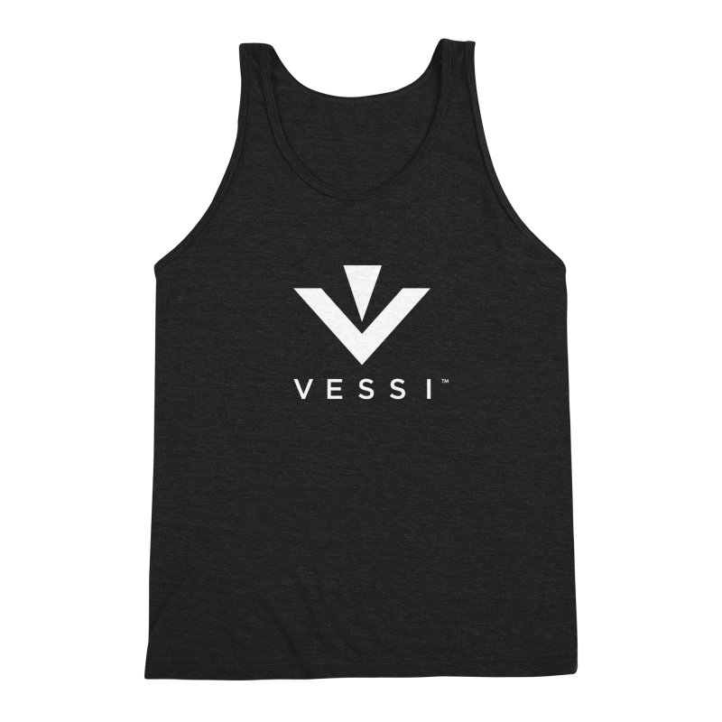 Vessi Logo Men's Triblend Tank by VESSI's Swag Shop