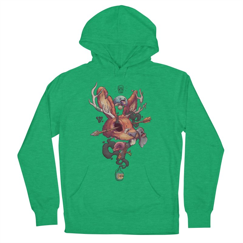 JACKALOPE CHIMERA Men's French Terry Pullover Hoody by VET Shop