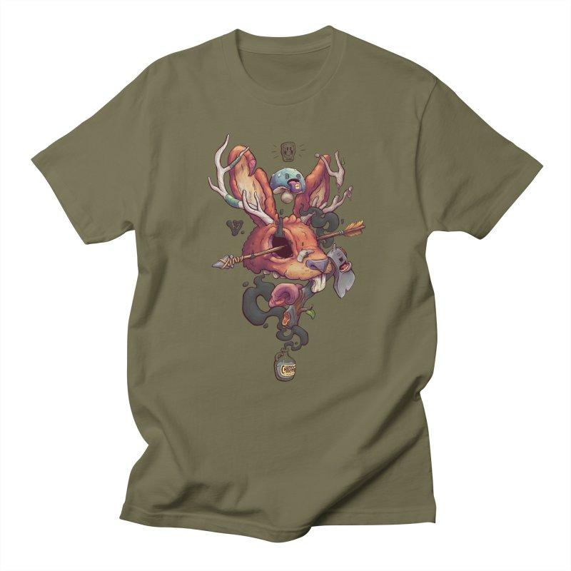 JACKALOPE CHIMERA Men's T-Shirt by VET Shop