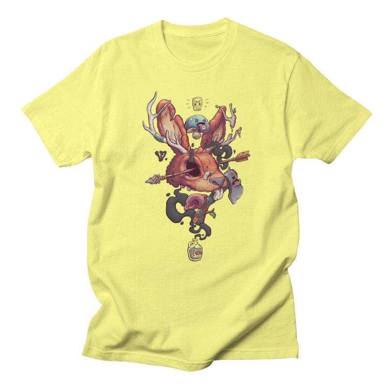 JACKALOPE CHIMERA Men's Regular T-Shirt by VET Shop