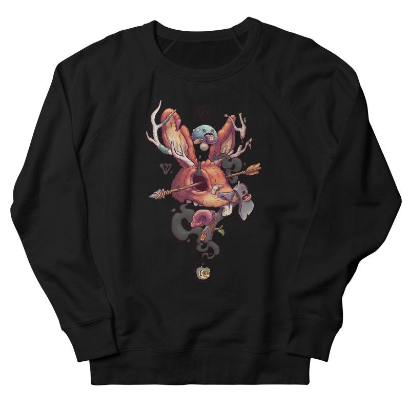 JACKALOPE CHIMERA Men's French Terry Sweatshirt by VET Shop