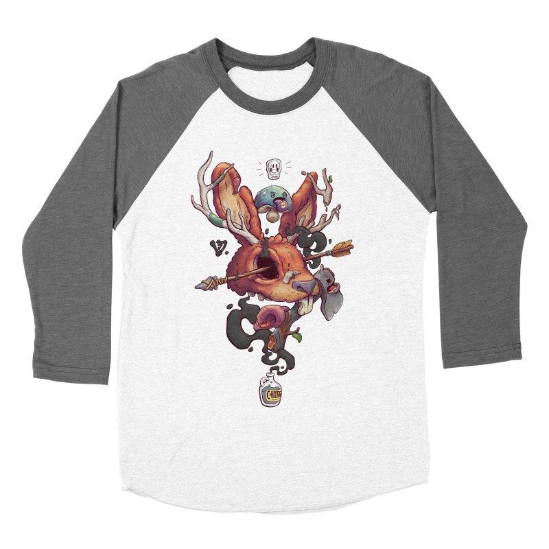 JACKALOPE CHIMERA Men's Baseball Triblend T-Shirt by VET Shop