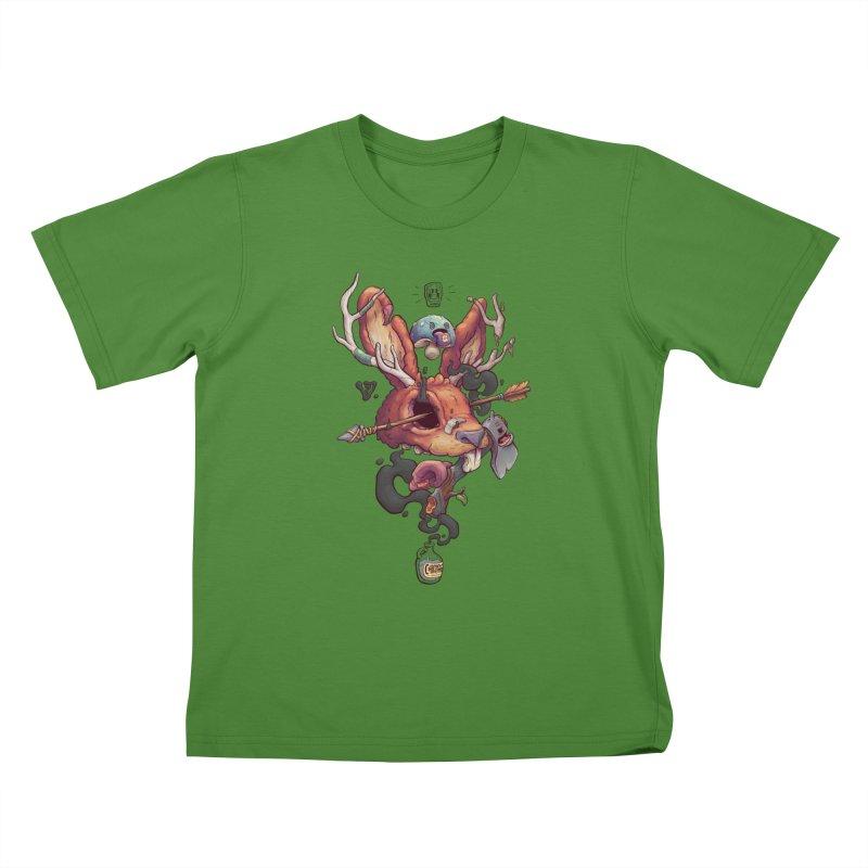 JACKALOPE CHIMERA Kids T-shirt by VET Shop