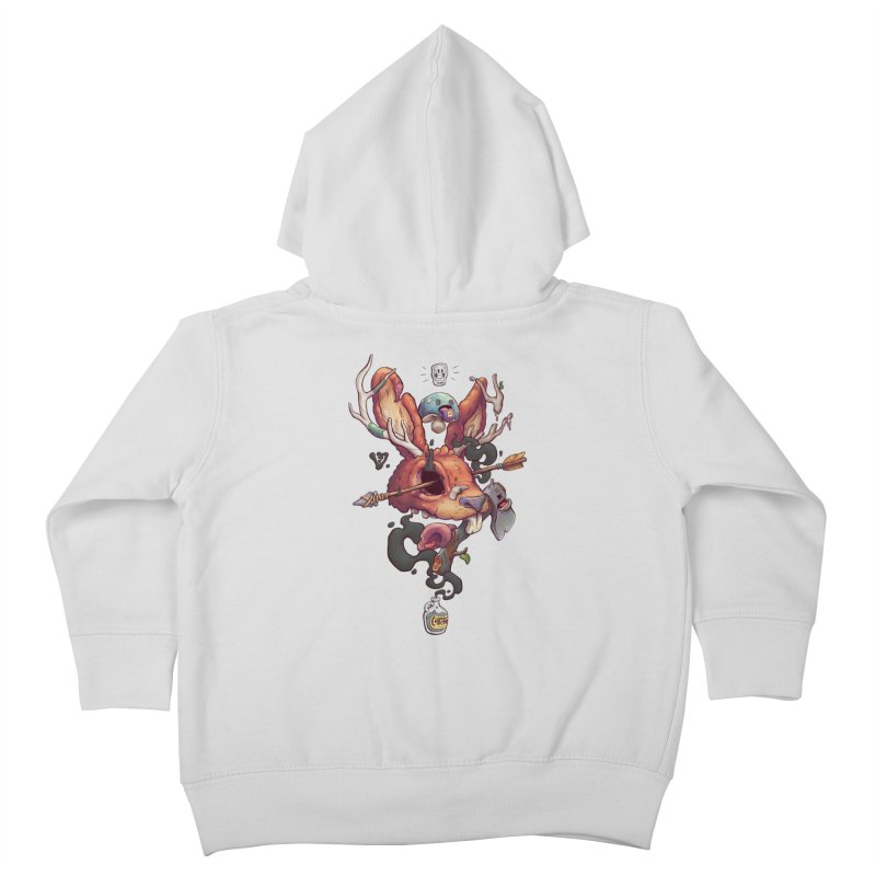 JACKALOPE CHIMERA Kids Toddler Zip-Up Hoody by VET Shop