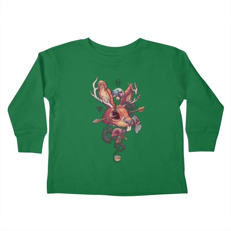 JACKALOPE CHIMERA Kids Toddler Longsleeve T-Shirt by VET Shop