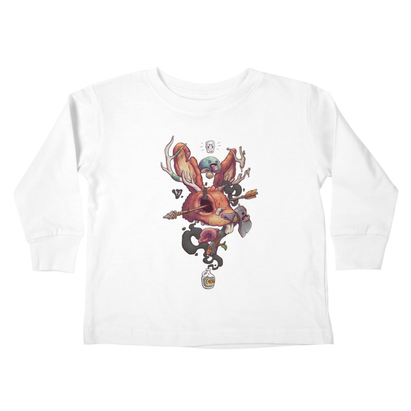 JACKALOPE CHIMERA Kids Toddler Longsleeve T-Shirt by VET Shop