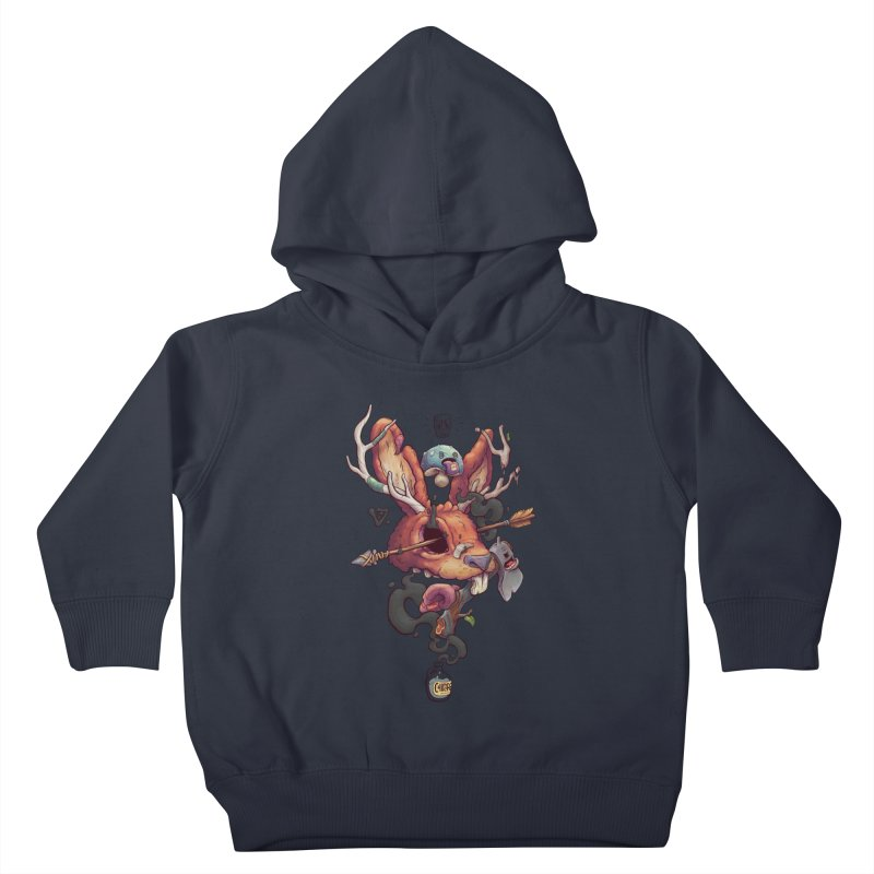 JACKALOPE CHIMERA Kids Toddler Pullover Hoody by VET Shop