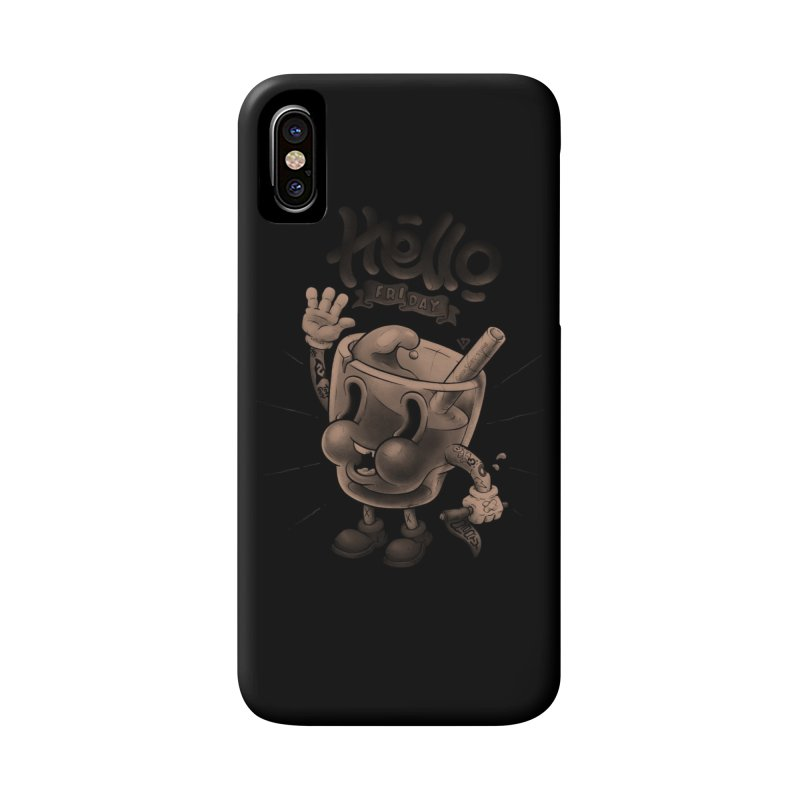 Hello Friday Accessories Phone Case by VET Shop