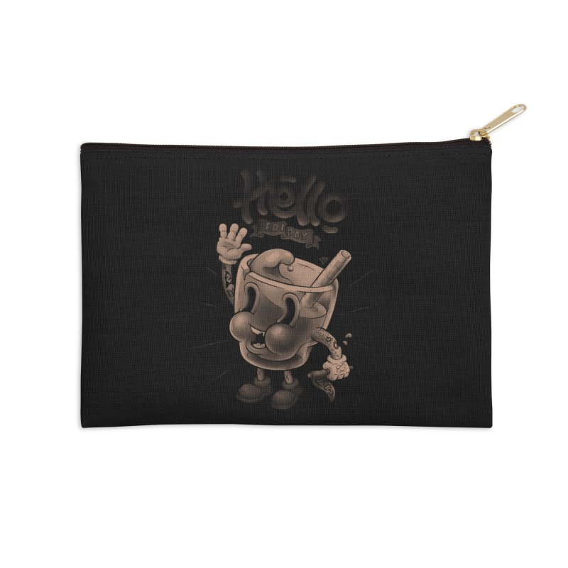 Hello Friday Accessories Zip Pouch by VET Shop