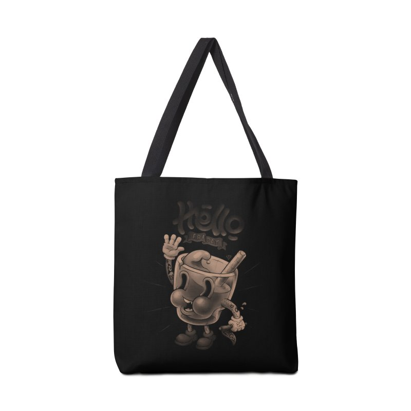Hello Friday Accessories Tote Bag Bag by VET Shop