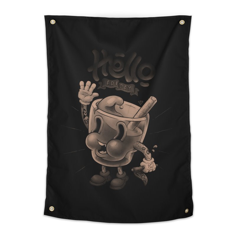 Hello Friday Home Tapestry by VET Shop