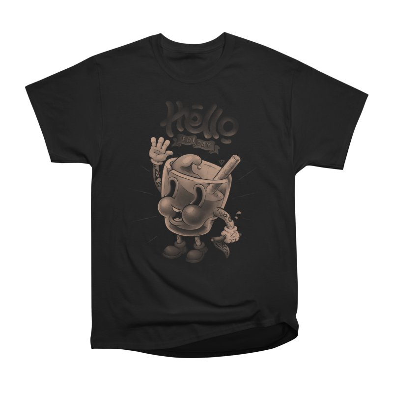 Hello Friday Men's Heavyweight T-Shirt by VET Shop