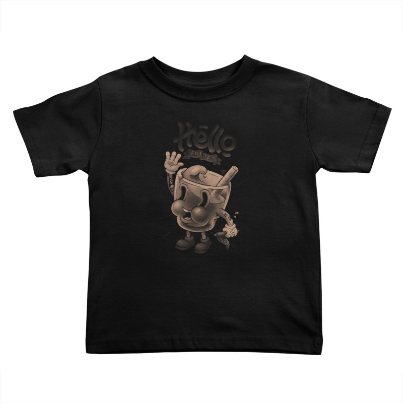 Hello Friday Kids Toddler T-Shirt by VET Shop