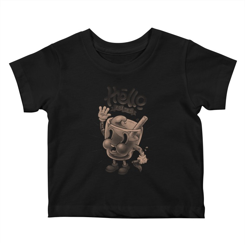 Hello Friday Kids Baby T-Shirt by VET Shop