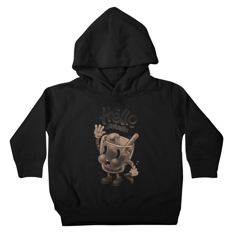 Hello Friday Kids Toddler Pullover Hoody by VET Shop