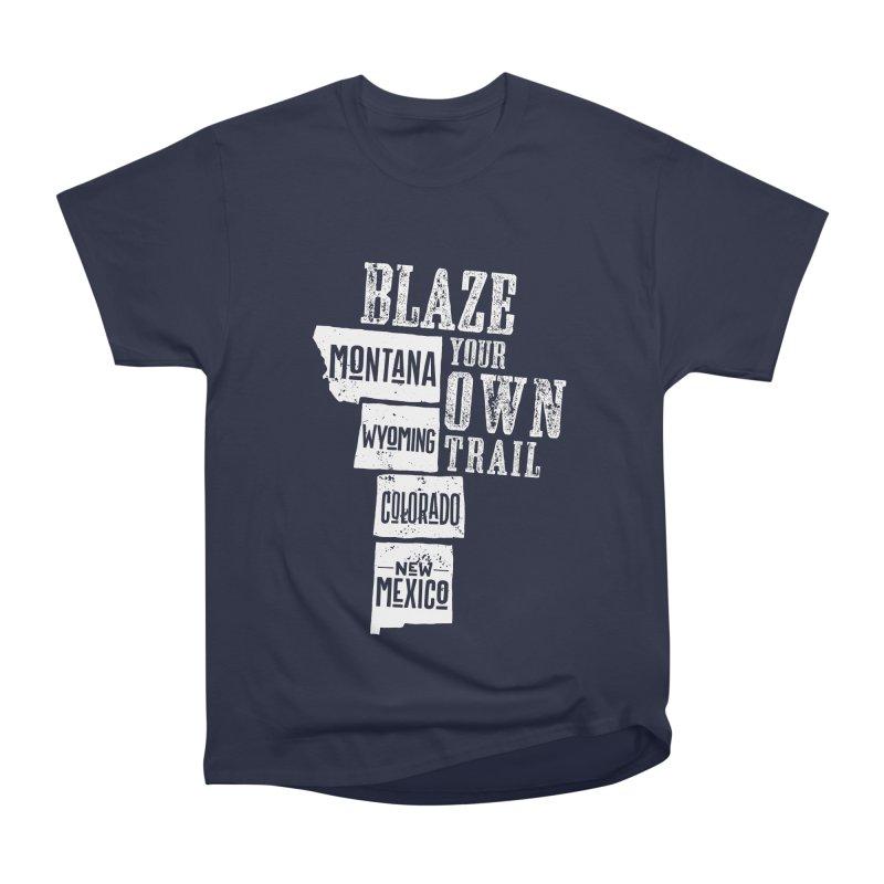 Blaze Your Own Trail Men's Heavyweight T-Shirt by Vet Design's Shop