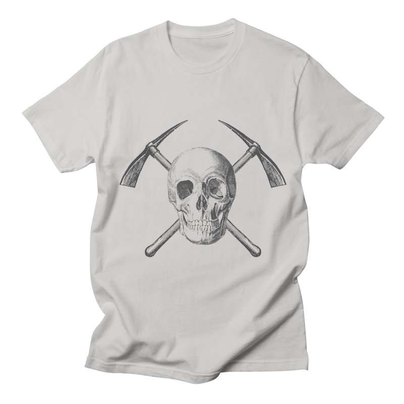 Skull and Cross-picks Men's T-Shirt by Vet Design's Shop