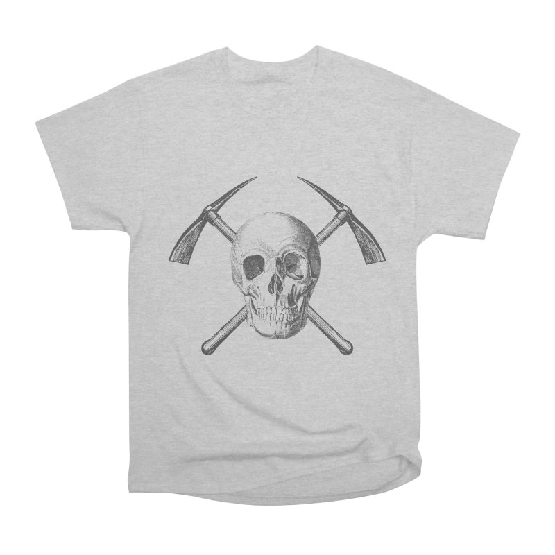 Skull and Cross-picks Men's Heavyweight T-Shirt by Vet Design's Shop