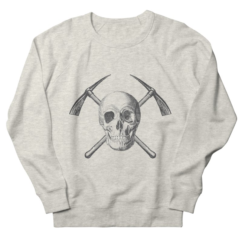 Skull and Cross-picks Men's French Terry Sweatshirt by Vet Design's Shop