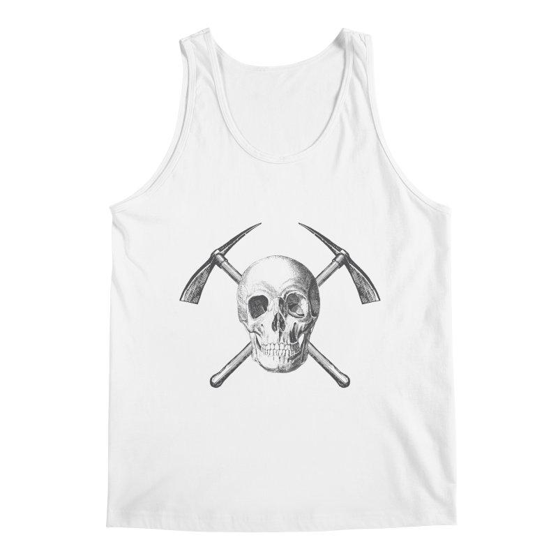 Skull and Cross-picks Men's Regular Tank by Vet Design's Shop