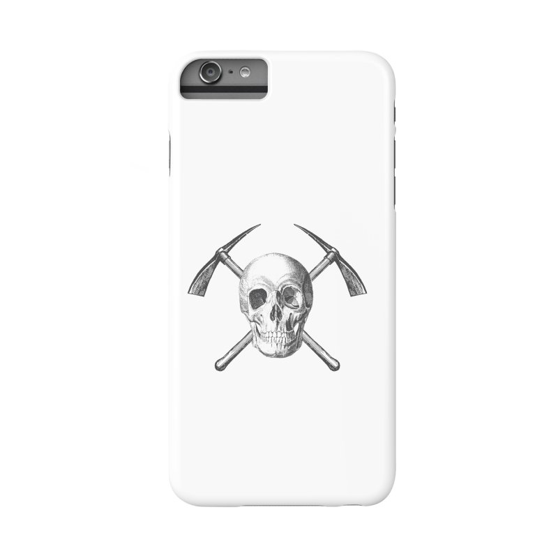 Skull and Cross-picks Accessories Phone Case by Vet Design's Shop