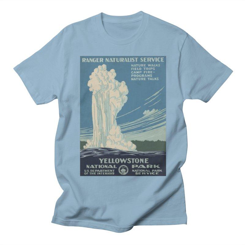 Yellowstone National Park, Ranger Naturalist Service Women's Regular Unisex T-Shirt by Vet Design's Shop