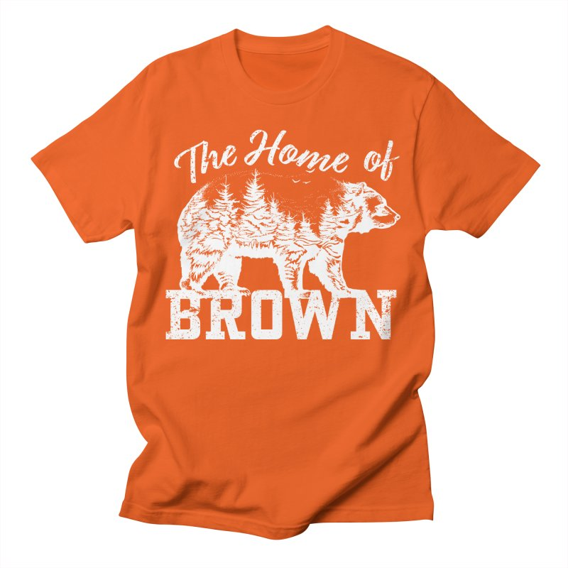 The Home of Brown Men's T-Shirt by Vet Design's Shop