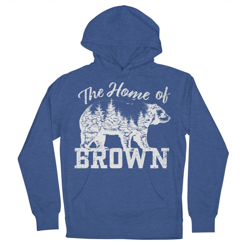 The Home of Brown Women's French Terry Pullover Hoody by Vet Design's Shop