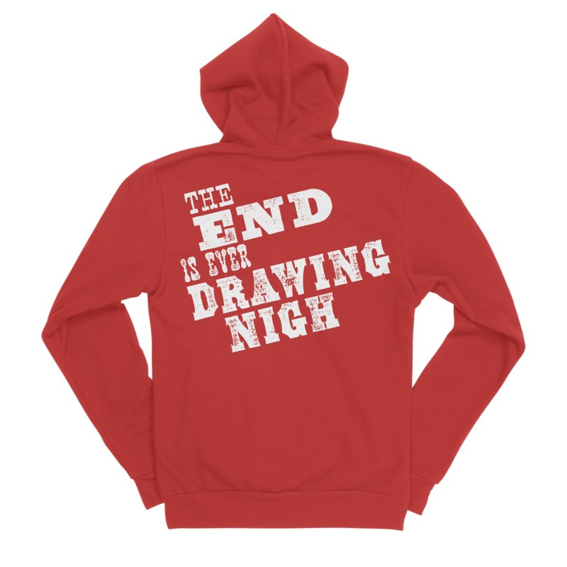 The End Is Ever Drawing Nigh Men's Zip-Up Hoody by Vet Design's Shop