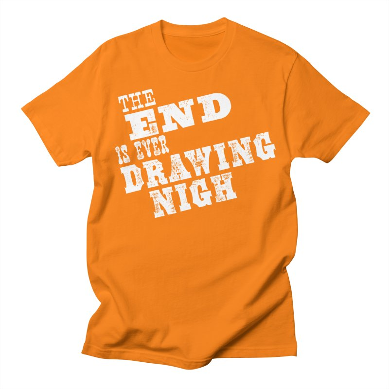 The End Is Ever Drawing Nigh Men's Regular T-Shirt by Vet Design's Shop